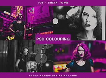 PSD #38 - China Town