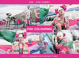 PSD #43 - Eye Candy by KhanDR