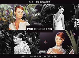 PSD #44 - Moonlight by KhanDR