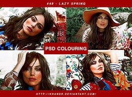 PSD #49 - Lazy Spring by KhanDR