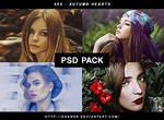 PSD Pack #04 - Autumn Heart