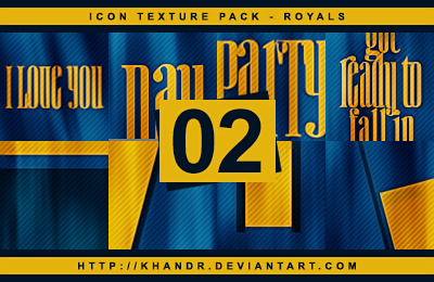 Royals - Icon Texture Pack #02 by KhanDR