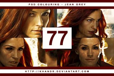 PSD #77 - Jean Grey by KhanDR