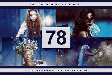 PSD #78 - Ice Cold by KhanDR