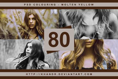 PSD #80 - Molten Yellow