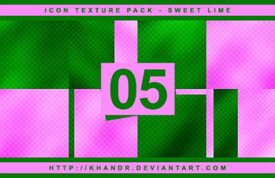 Sweet Lime - Icon Texture Pack #05 by KhanDR