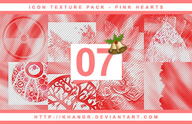 Pink Hearts - Icon Texture Pack #07