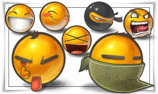 Packs Emoticons a gogo