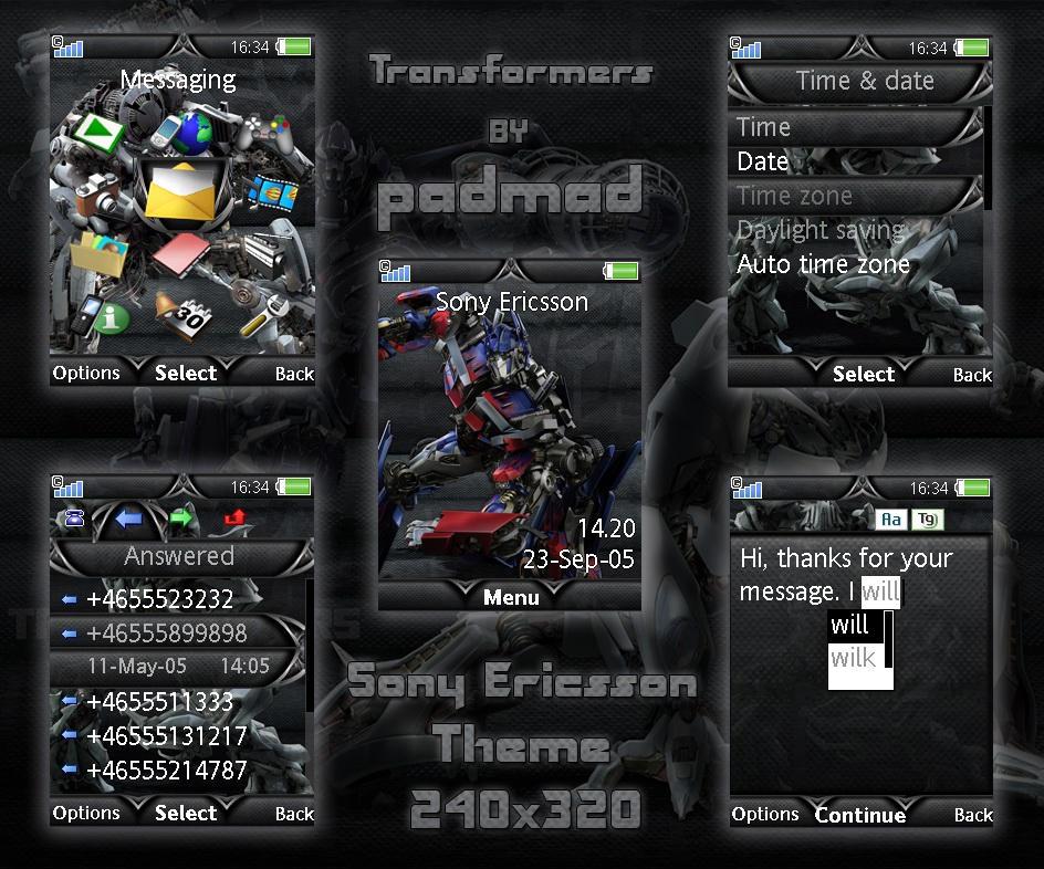 Transformers- v4.5, v4.6, v4.7 by padmad