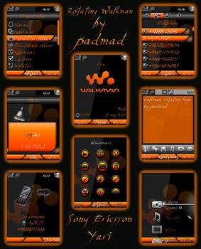 Rotating Walkman - Yari u100
