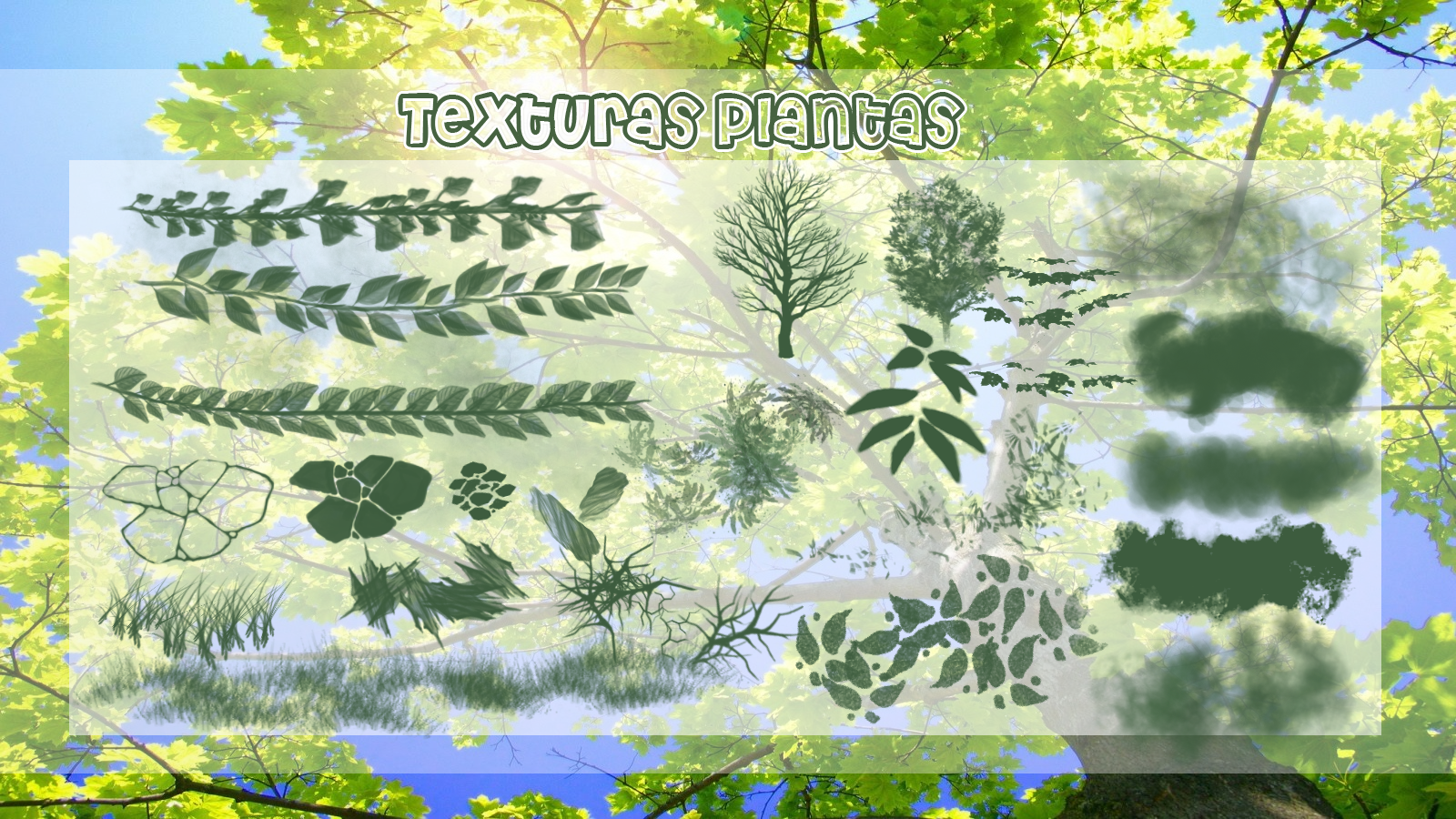 Texturas Plantas by Recursos-SAI on DeviantArt