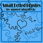 Small Dotted Brushes