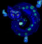 Mini Cat Demon V3 Line Art by Airy-Styles