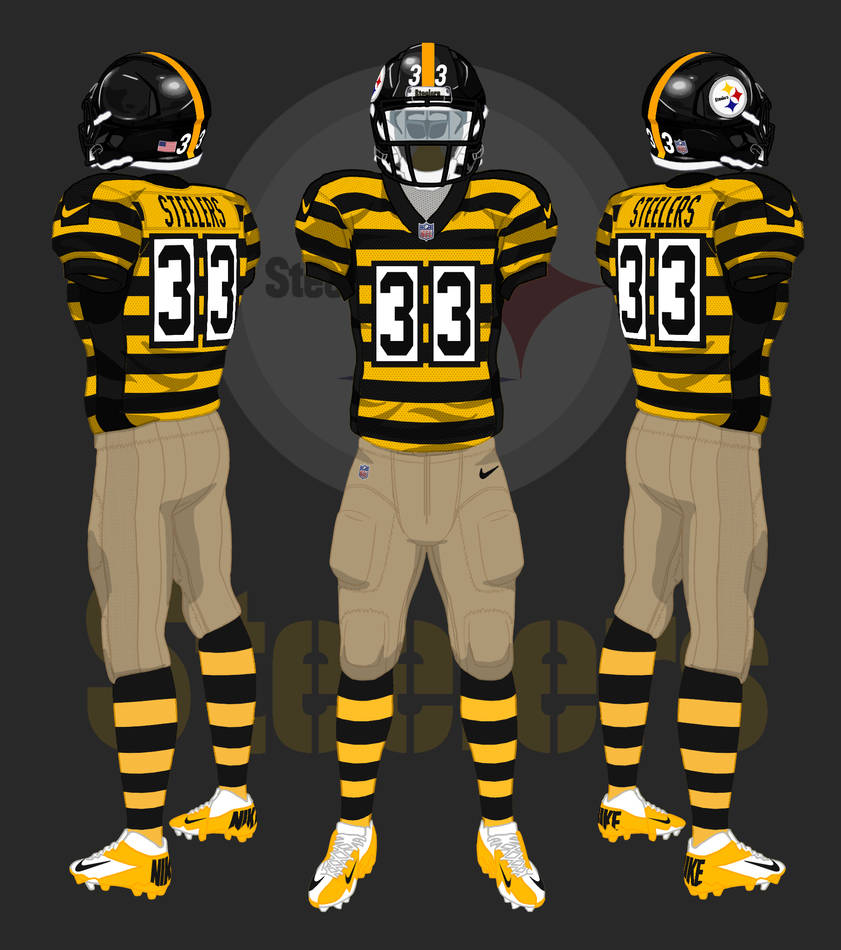 check out c0a04 dd742 Pittsburgh Steelers alternate uniform by CoachFieldsOfNOLA ...
