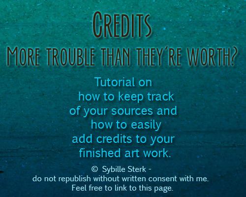 Credits - Tutorial