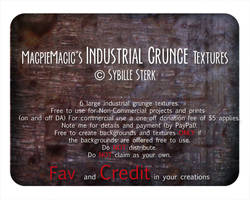 MM Industrial Grunge Textures