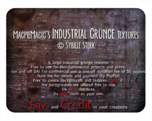 MM Industrial Grunge Textures