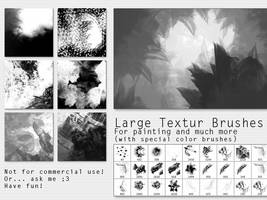 Textured Brushes LARGE by VisionOfViolet