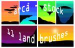 11 land ps cs3 brushes