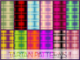 tartan patterns II by arca-stock