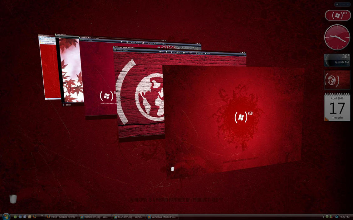 Gmail theme greasemonkey - Product Red Theme For Vista By Tigz54