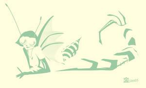 Larval Stage by egypturnash