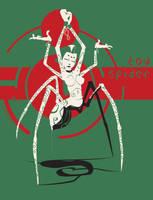 Toy Spider by egypturnash
