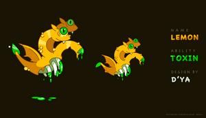 Original Character - LEMON DRAGON