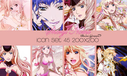 Sheryl Nome icon set by littlecherryblossom9