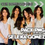 Pack PNG de Selena Gomez
