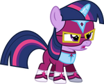 Twilight Sparkle Filly as Masked Matter-Horn