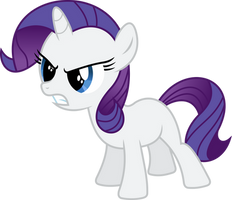 Rarity Filly by imageconstructor
