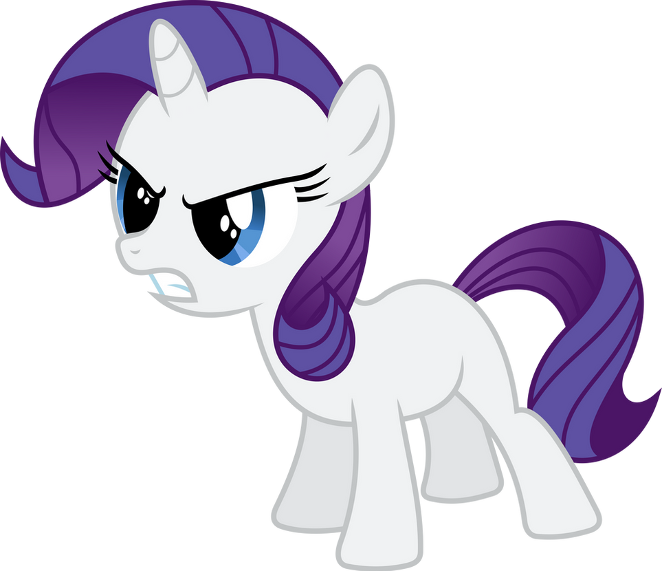 Rarity Filly by imageconstructor on DeviantArt