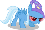 Trixie Filly Batpony