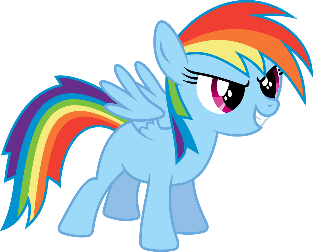 Rainbow Dash Filly by imageconstructor on DeviantArt  Filly Rainbow Dash And Derpy