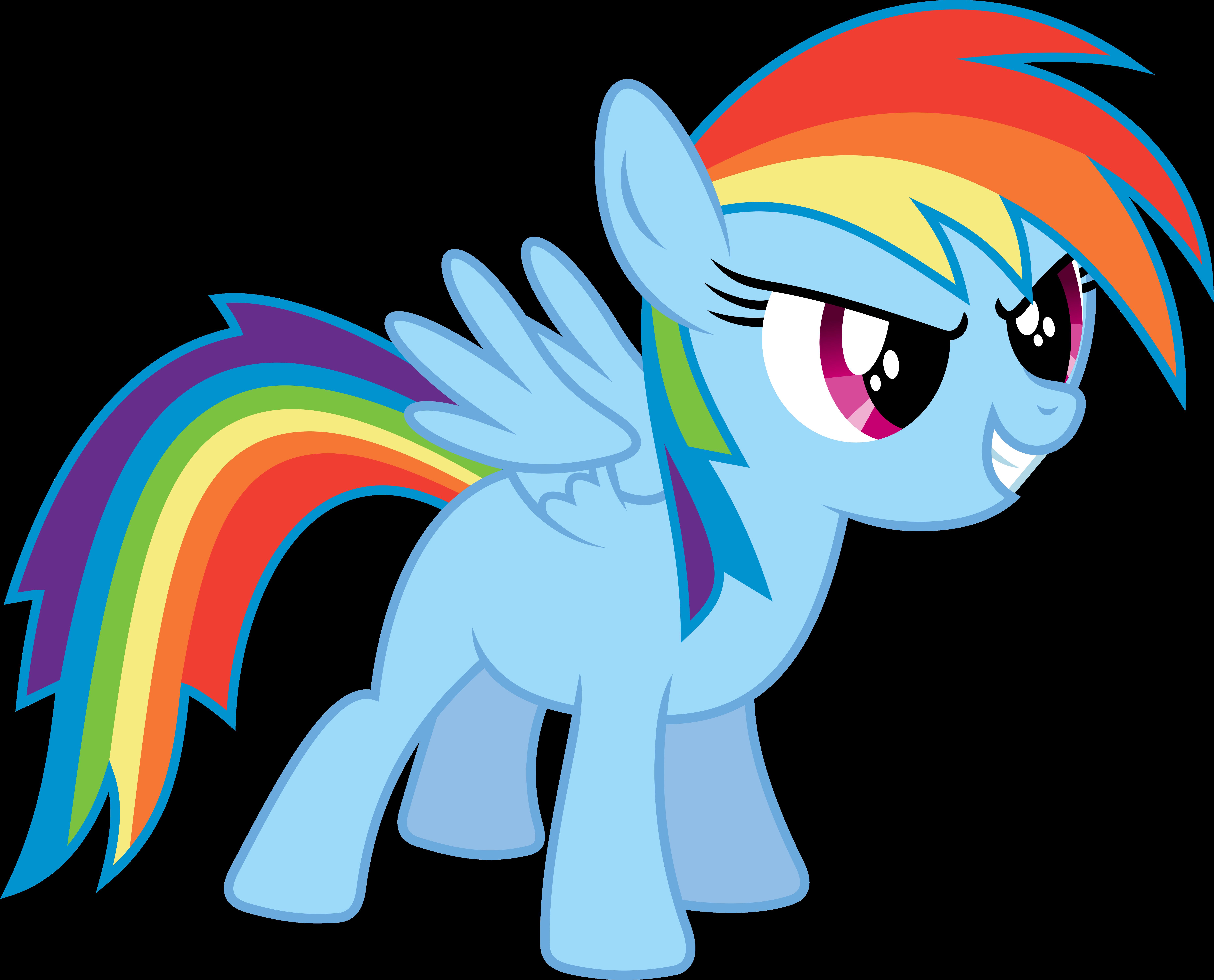 Rainbow Dash Filly by imageconstructor on DeviantArt