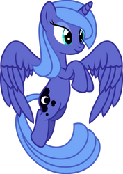 Luna Flying