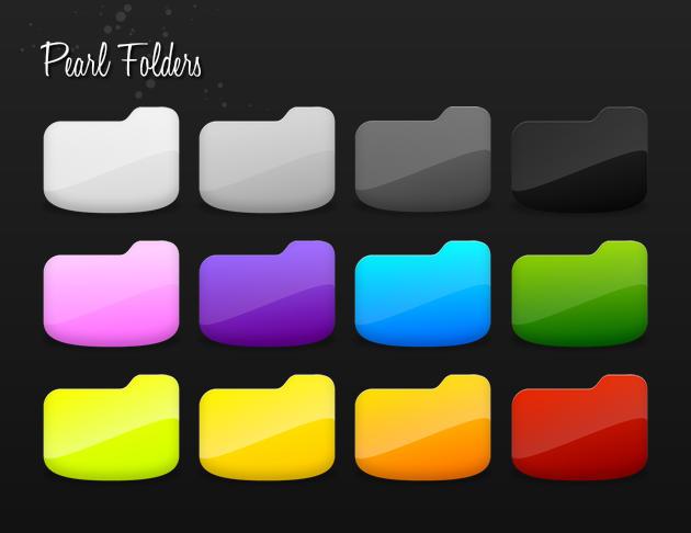 Pearl Folders by de-concepto