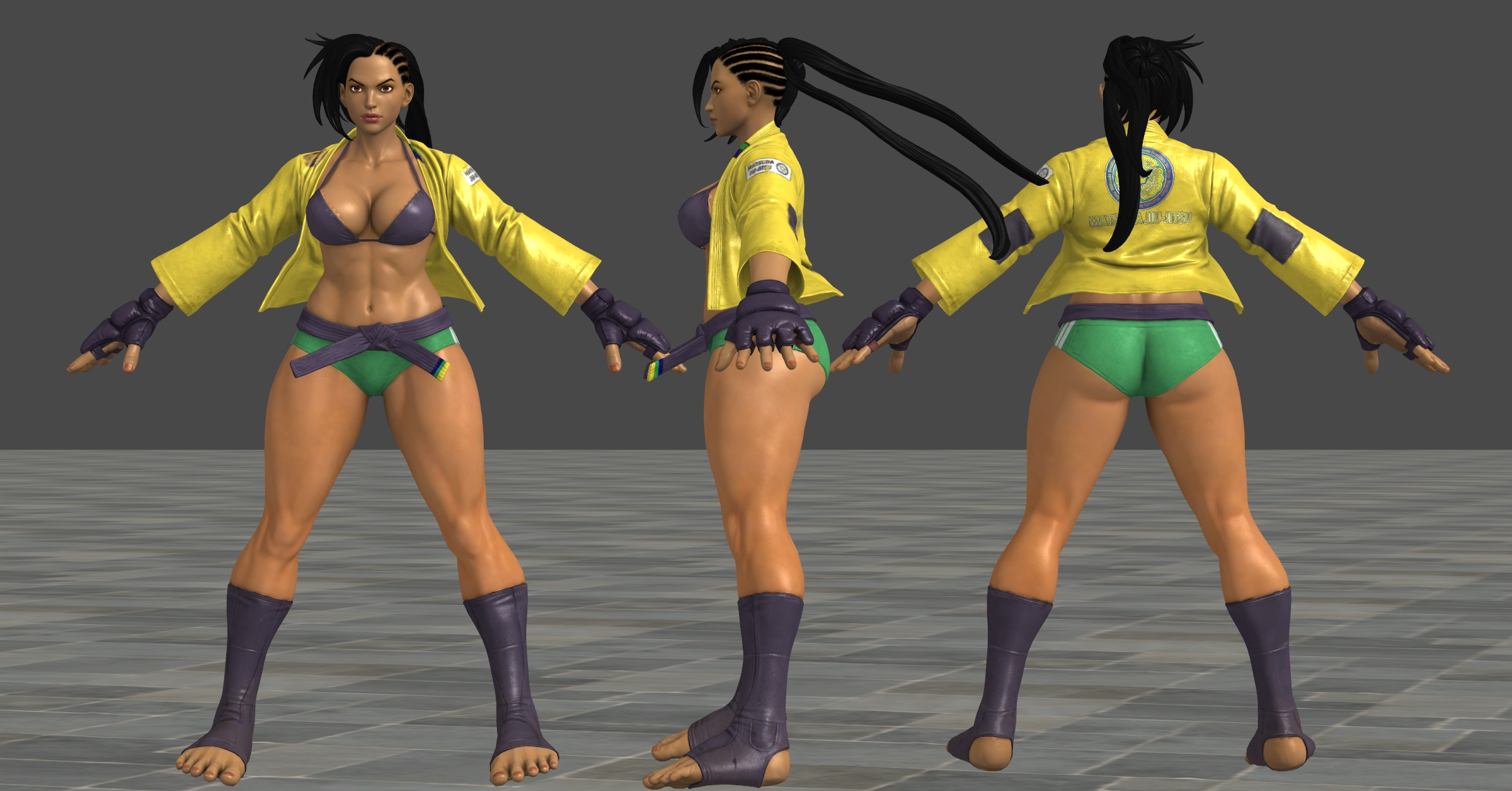 SFV Laura C3 XPS by Chrissy-Tee