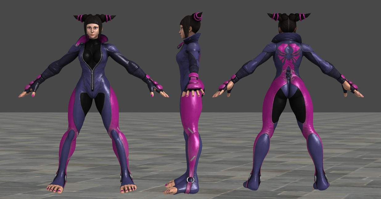 SFV Juri C1 XPS *Updated* by Chrissy-Tee