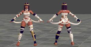 SFV Menat C3 Battle Costume XPS *updated again*
