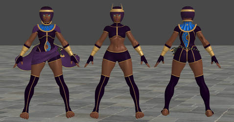 SFV Menat C1 XPS OUTDATED by Chrissy-Tee