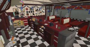 Dead Or Alive 5 Diner Reupload by Chrissy-Tee
