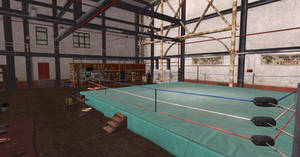 DOA5 Gym/Sweat Stage Scene XPS by Chrissy-Tee