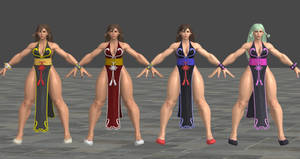 SFV Chun Li C3 Battle Costume XPS Model