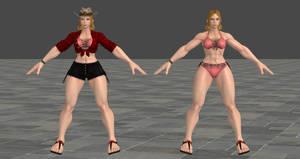 SFV Lucia Swimsuit XPS Model