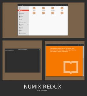 Numix Redux - GTK3 Theme