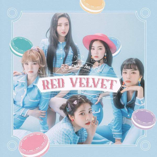 RED VELVET COOKIE JAR (JAPANENSE VER) (ALBUM)  by dahyunggchae1kim
