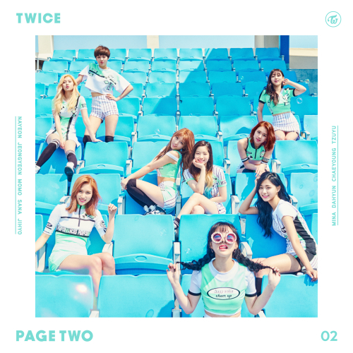 TWICE - PAGE TWO - EP by dahyunggchae1kim on DeviantArt