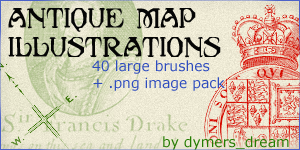 Antique Map Illustrations by dymersdream